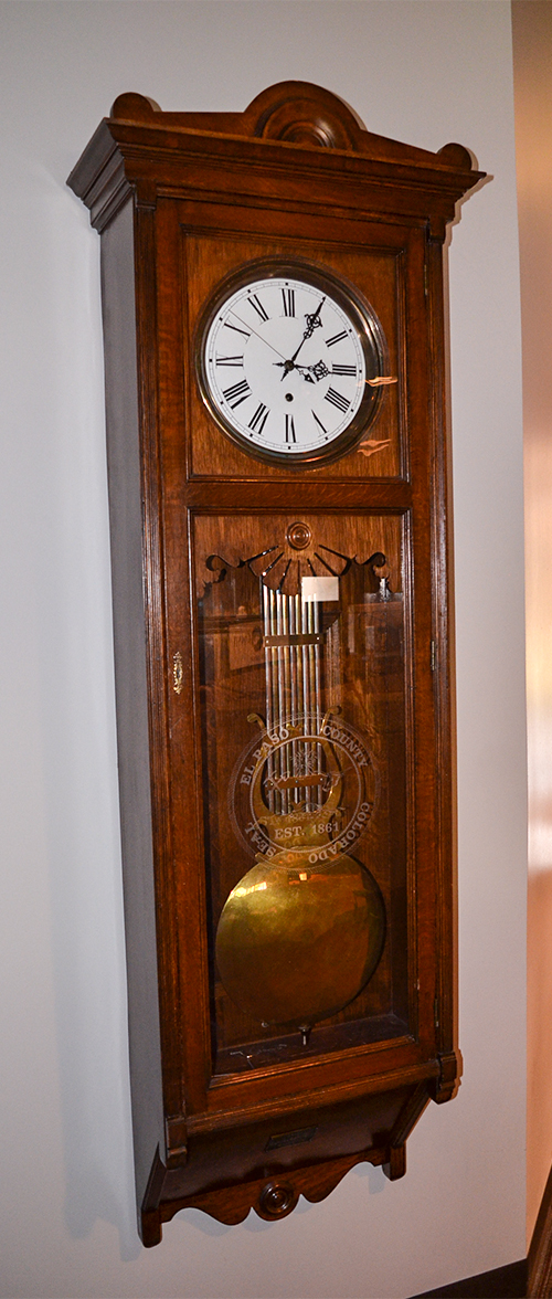 Clock Centennial Hall Auditorium