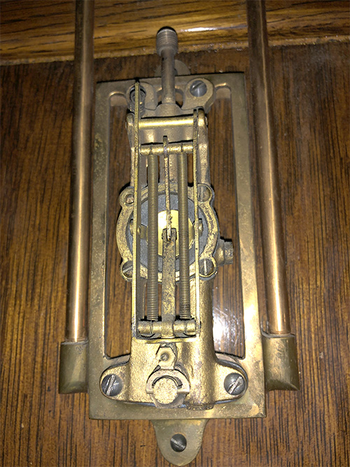 Clock internal part