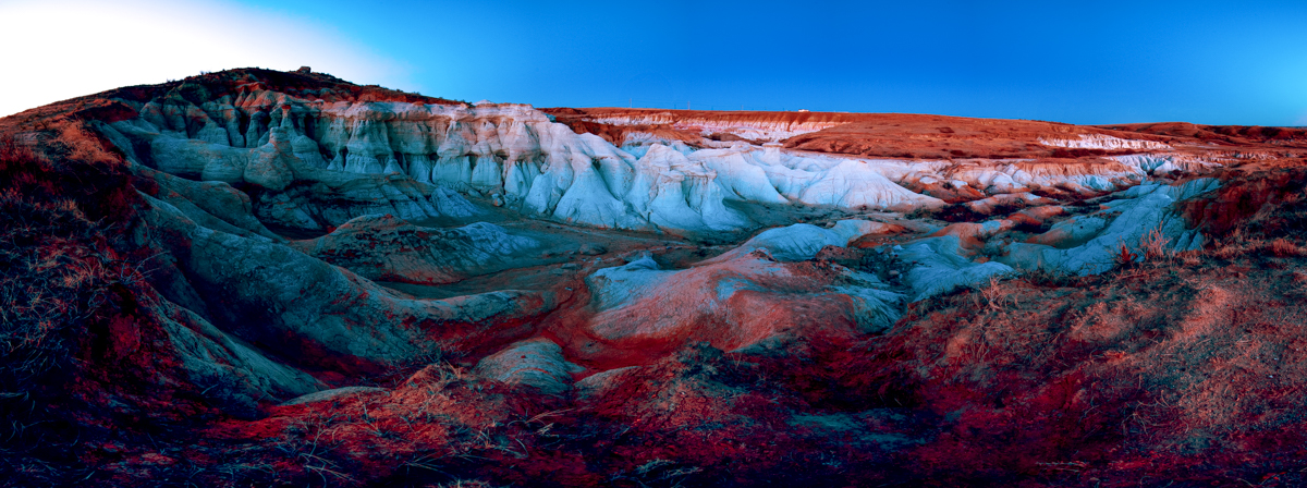 Paint Mines Pano by Matt Payne