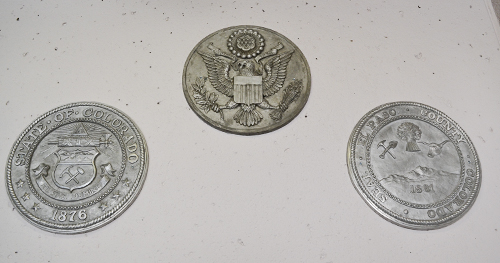 Silver Seals group of three