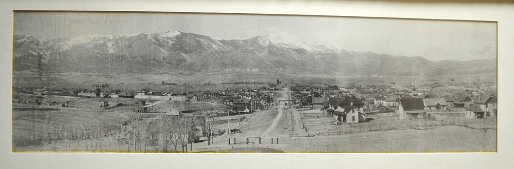 Colorado Springs 1895 Kiowa Street Photo by William H Jackson
