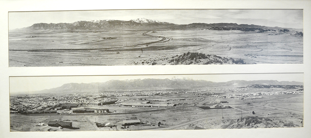 Colorado Springs 1913 and 1972