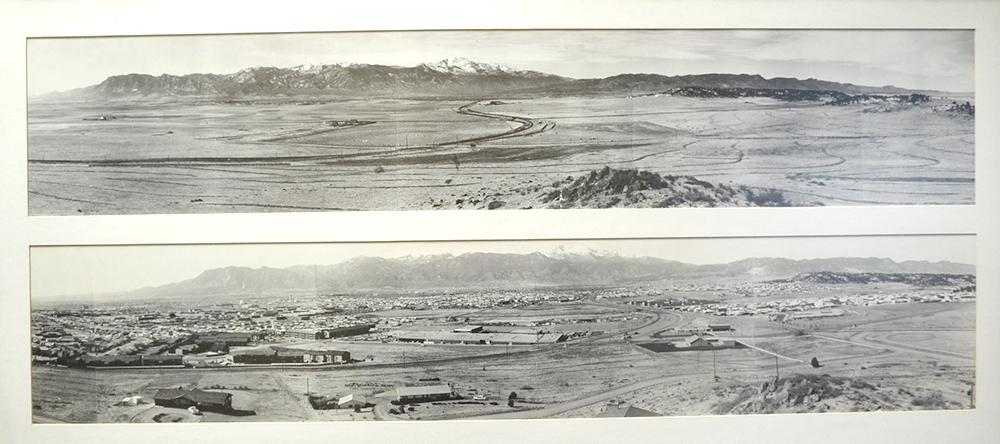 Colorado Springs 1913 and 1972