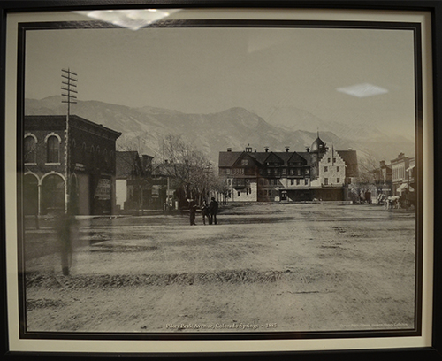 Stewarts Collection Pikes Peak Ave 1885