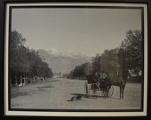 Stewarts Collection Pikes Peak and Pikes Peak Ave 1880