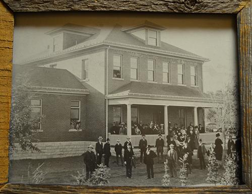 Stewarts Collection Poor Farm Dedication 1900