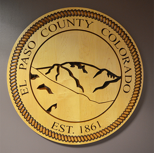 Wooden County Seal