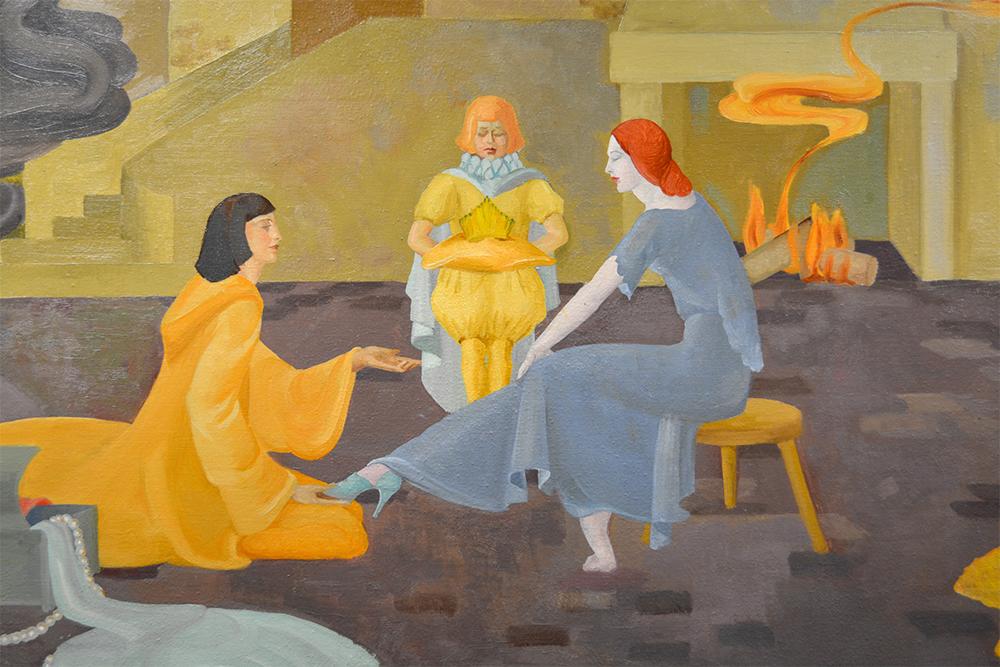 Cinderella painting slipper