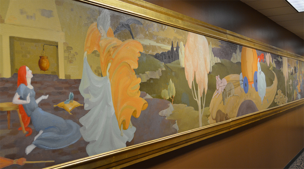 Cinderella painting wide image