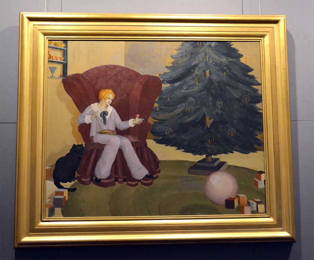 Little Jack Horner painting