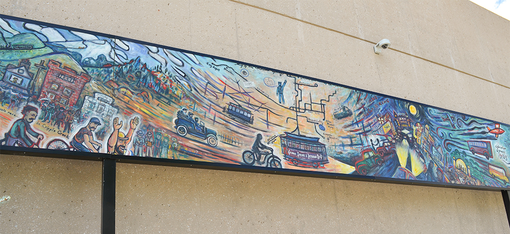 Transportation Mural Full Section c