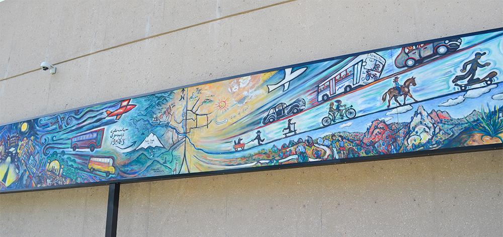 Transportation Mural Full Section d