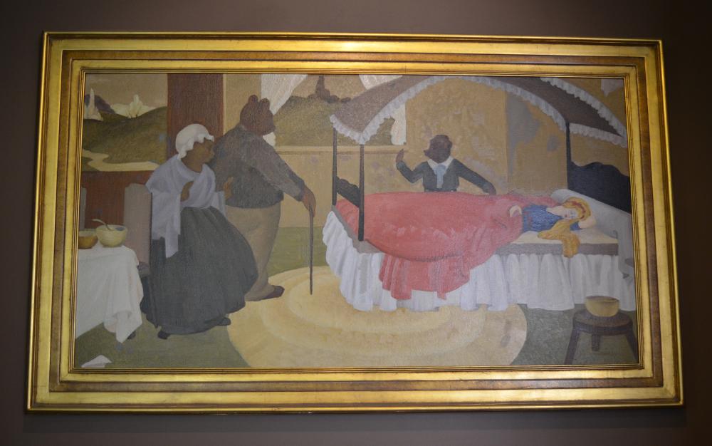 goldielocks painting