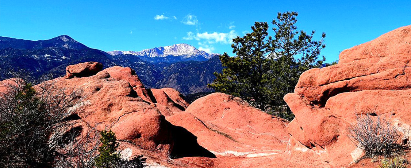Pikes Peak with Rocks by Todd Ciccarelli EPC staff