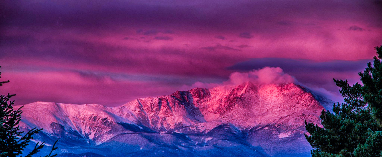 Pink Pikes Peak by Karen Logan EPC staff