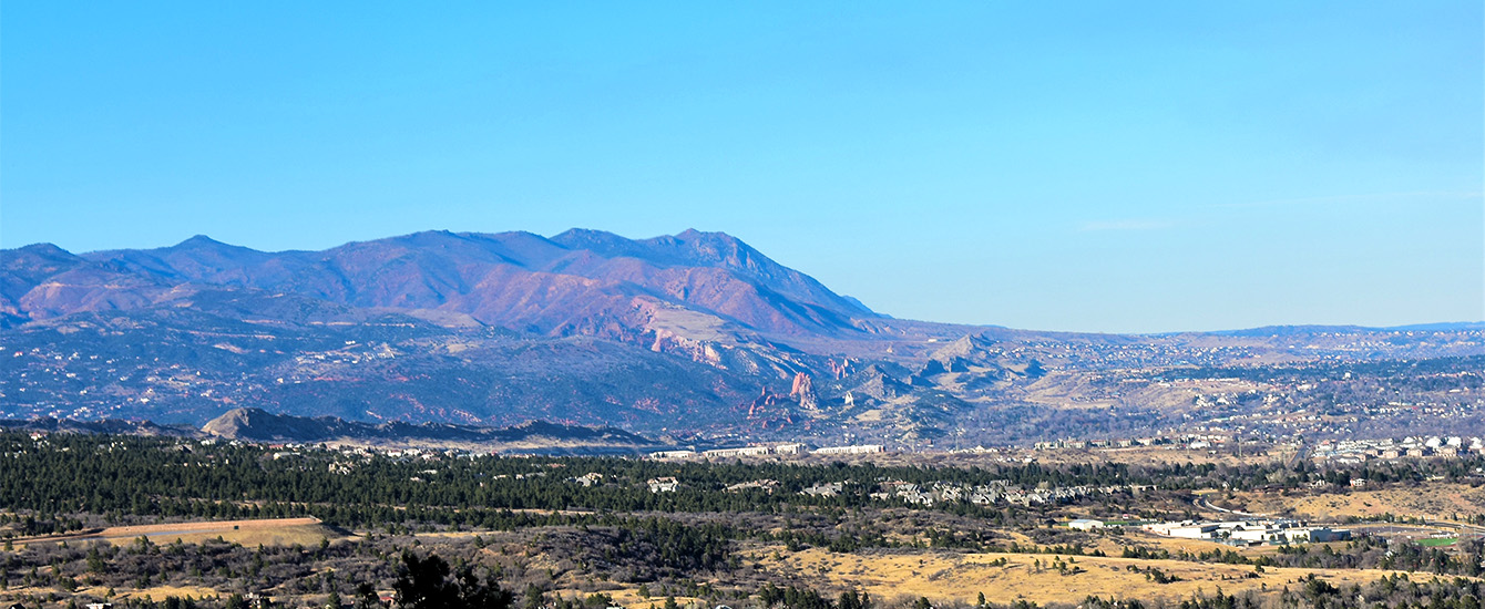 View of Rampart Range by Joe Letke EPC staff