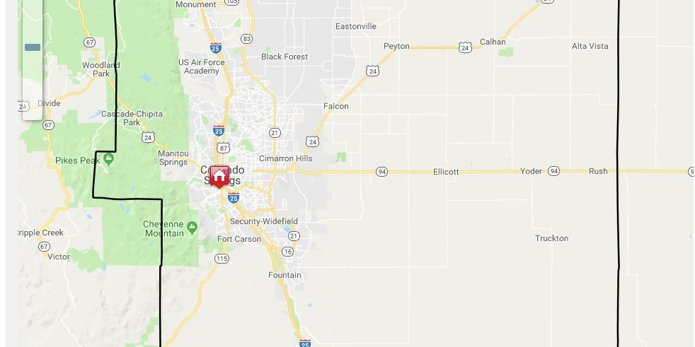 User-Friendly Parcel Search Tool - El Paso County Colorado