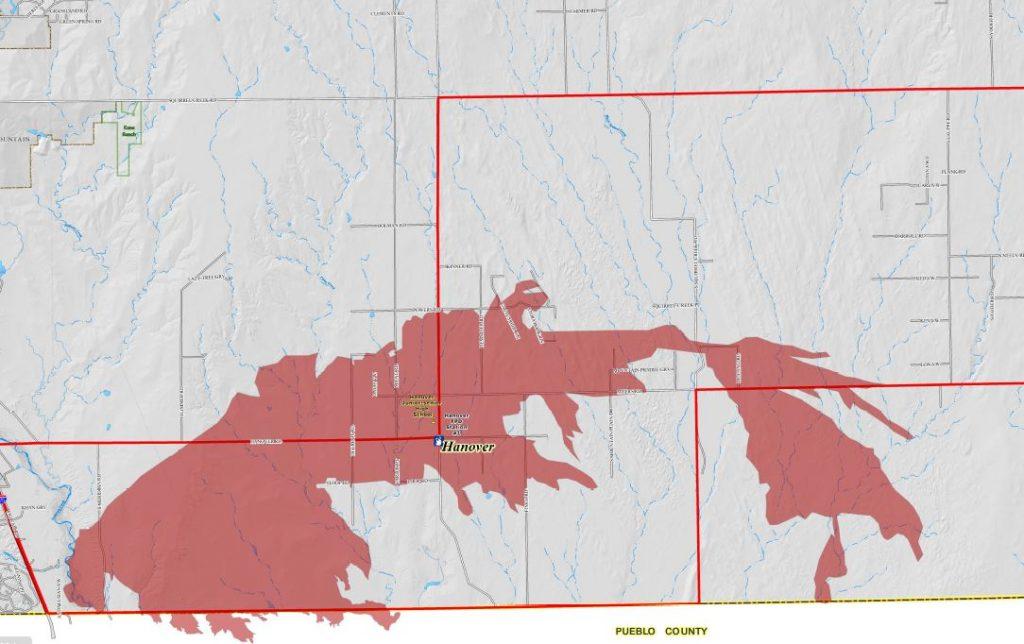 117 Fire burn area map