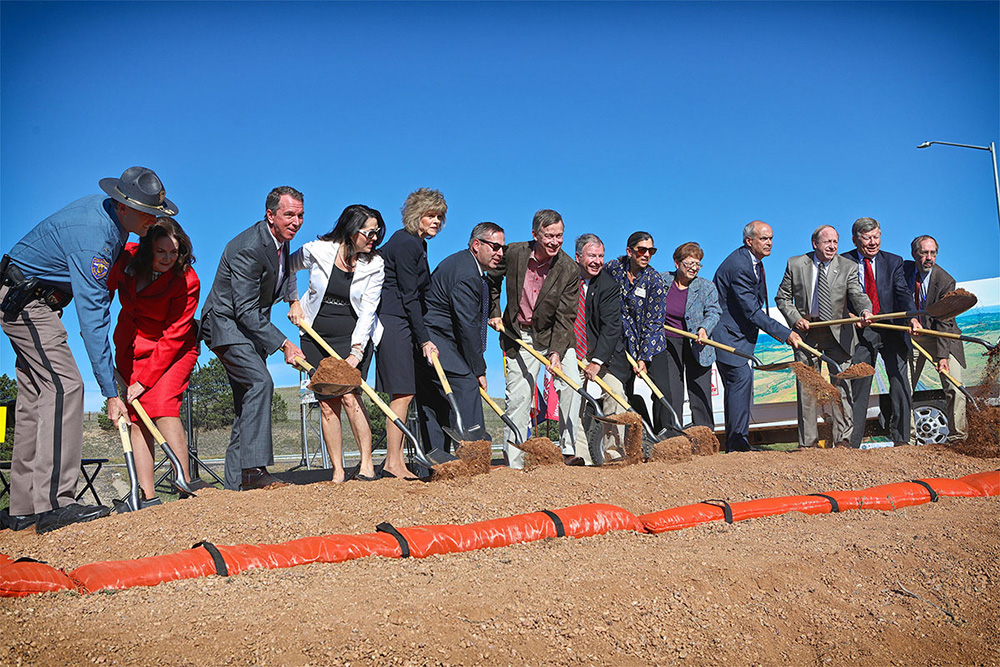 CDOT 1-25 Groundbreaking Ceremony 1000