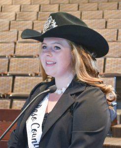 Cheyenne Holt Fair Queen 1
