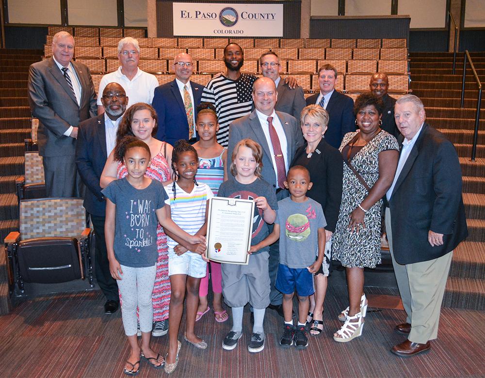 Juneteenth Proclamation Group Photo