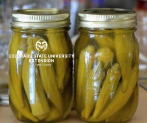 Jars of Okra