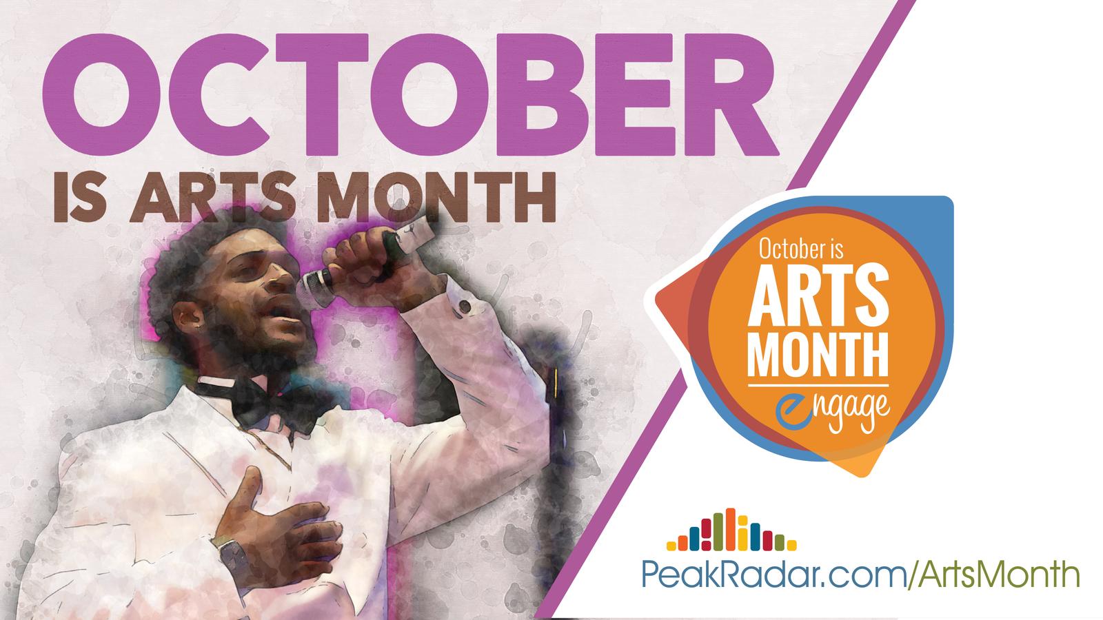 Arts Month graphic 2019
