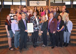 The Board of El Paso County Commissioners at its regular meeting Thursday, June 6, 2019, recognized June 15th as World Elder Abuse Awareness Day with a Proclamation.