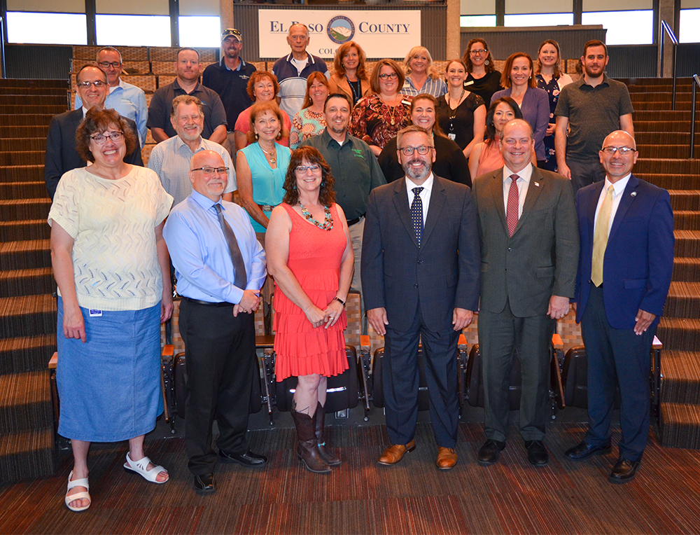 Fair at Commissioners Meeting Group Photo