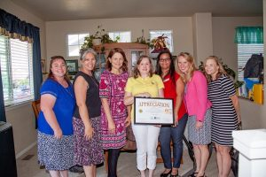 Commissioner Cami Bremer and DHS Executive Director Julie Krow and others visited Lets Monkey Around daycare in early September 2019. Lets Monkey Around is a Level 5 CCCAP provider, only one of three in El Paso County.