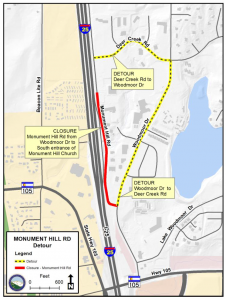 Monument Hill Road Safety Improvements Project
