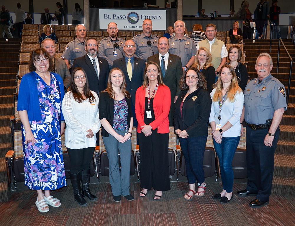 Telecommunicators Proclamation Group photo