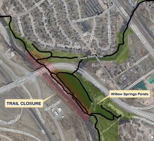 Willow Trail Closure Map
